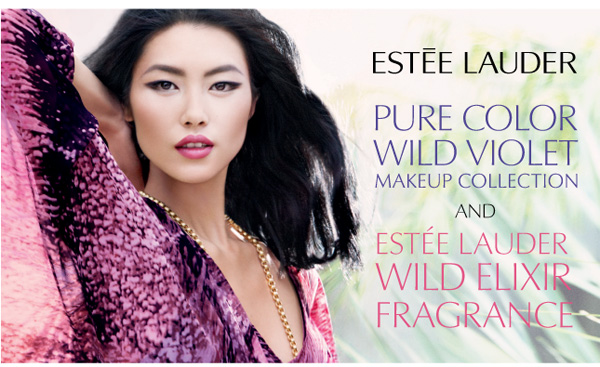 Estee Lauder Spring 2011 Wild Violet Collection promojpg Estee Lauder Wild Violet Collection for Spring 2011 & Wild Elixir Fragrance Official Information, Photos, Prices