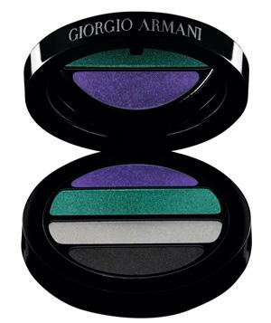 Giorgio Armani 2011 Spring Transluminence eyeshadow palette Giorgio Armani Trasnluminence Collection for Spring 2011   New Photos