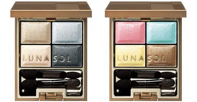 Kanebo Lunasol Spring 2011 Ocean eye shadow palettes Lunasol Ocean Collection for Spring 2011 New Information & Photos