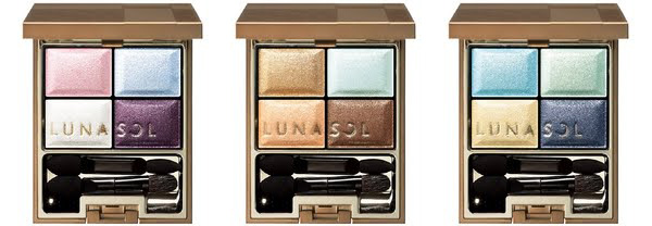 Kanebo Lunasol Spring 2011 Ocean eyeshadow palettes Lunasol Ocean Collection for Spring 2011 New Information & Photos