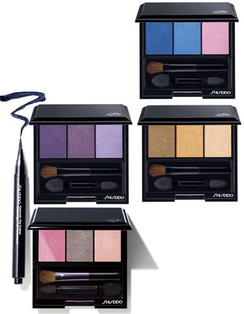 Shiseido 2011 Spring Summer Trio Eye Shadow Palette Shiseido Makeup Collection for Spring   Summer 2011   Sneak Peek & Promo Photos