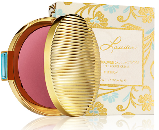Estee Lauder Mad Men Collection Creme Rouge Spring 2012 packaging Estee Lauder Mad Men Collection for Spring 2012   Information, Photos & Prices