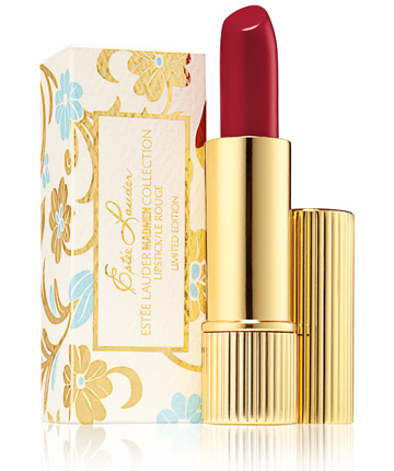 Estee Lauder Mad Men Collection Lipstick Cherry Spring 2012 packaging Estee Lauder Mad Men Collection for Spring 2012   Information, Photos & Prices