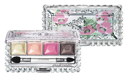 Jill Stuart Jewel Crystal Eyes Palette Spring 2012 Jill Stuart Bare Petal Collection for Spring 2012   Information & Photos