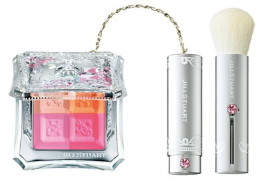 Jill Stuart Mix Blush Compact Spring 2012 Jill Stuart Bare Petal Collection for Spring 2012   Information & Photos