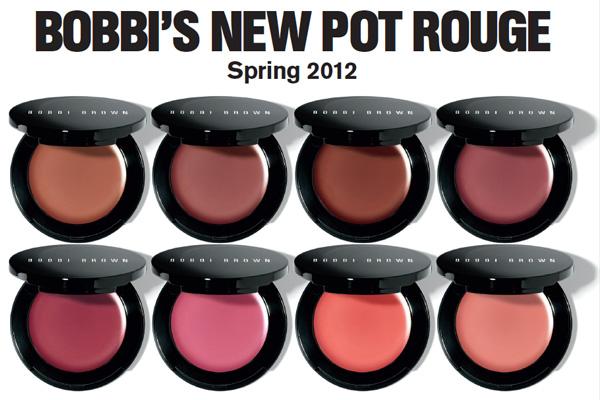 Bobbi Brown Pot Rouge Lips & Cheeks for Spring 2012