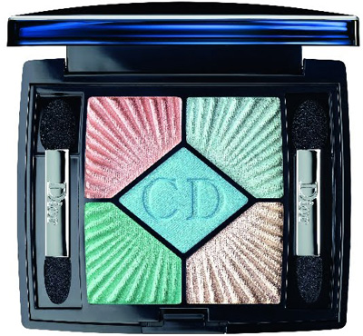 Dior 5 Coleur Eyeshadow Palette Swimming Pool Summer 2012 Dior Croisette Collection for Summer 2012   Information, Photos & Prices