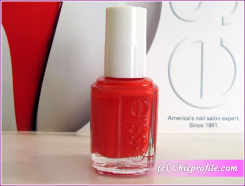 Ole Caliente Is Described As A Red Orange With Pink Undertone And Had Opaque Color Coverage In Two Coats Though I Was Hily Surprised To See It