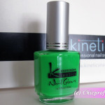 Kinetics Oops, Green! Nail Polish from Kinetics Neon Spring 2012 Collection – Review, Nail Swatches & Photos