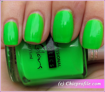 Kinetics Oops, Green! Nail Polish from Kinetics Neon Spring 2012 ...