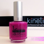 Kinetics Violet Up! Nail Polish from Neon Spring 2012 Collection – Review, Nail Swatches & Photos