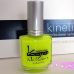 Kinetics Yellow Shock Nail Polish from Kinetics Neon Spring 2012 Collection – Review, Nail Swatches & Photos
