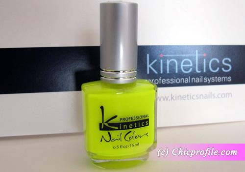 Kinetics Yellow Shock Nail Polish from Kinetics Neon Spring 2012 ...