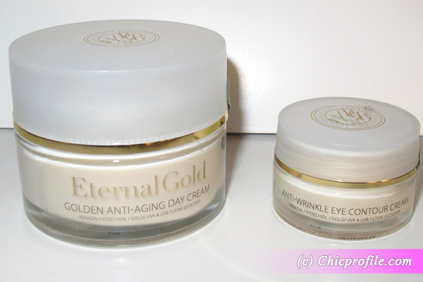 Eye Cream Organique Eternal Gold Golden Anti Aging Cream Anti