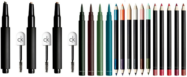 CK One Spring 2012 Brow Pencil Eyeliner Double Ended Eyeliner Lip Pencil CK One Spring 2012 Makeup Collection   New Info, Photos & Prices