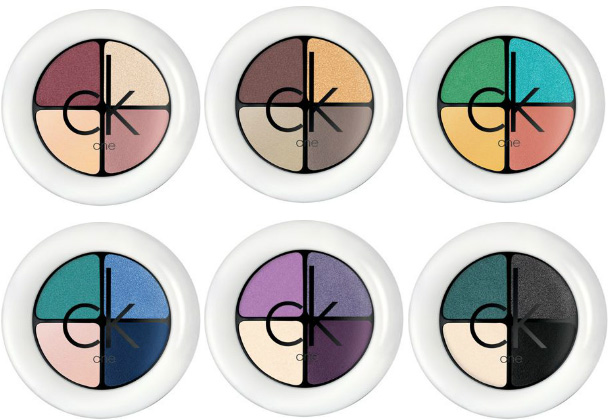 CK One Spring 2012 Powder Eyeshadow Quad CK One Spring 2012 Makeup Collection   New Info, Photos & Prices