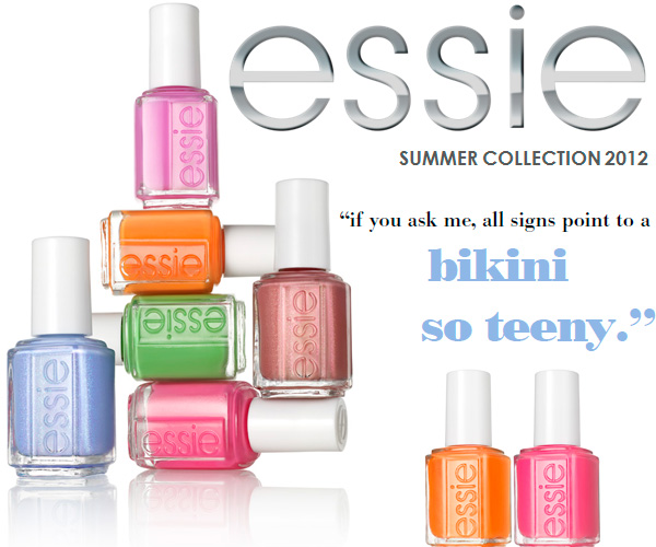 Essie Summer 2012 Nail Polish Collection – Official Info, Photos