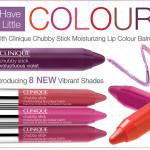 Clinique Chubby Stick Moisturizing Lip Colour Balm – New Summer 2012 Shades – Info & Photos