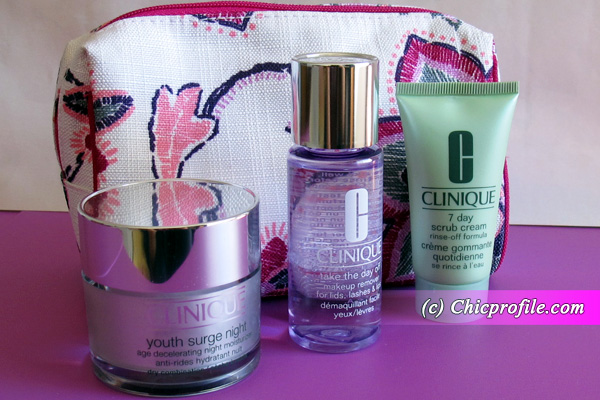 my package from clinique preview beauty trends and. Black Bedroom Furniture Sets. Home Design Ideas