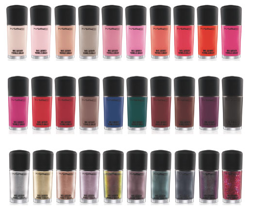 MAC Summer 2012 Nail Polish Collection – Info, Photos & Prices