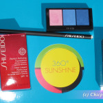 My makeup products from Shiseido – Preview, Photos & Swatches