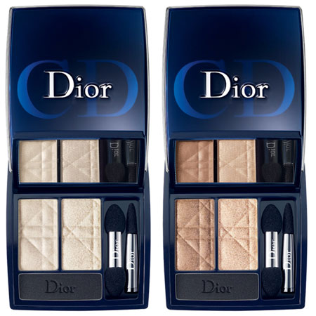 Dior Fall 2012 3 Color Eyeshadow Palette Dior Golden Jungle Collection for Fall 2012   Info & Photos