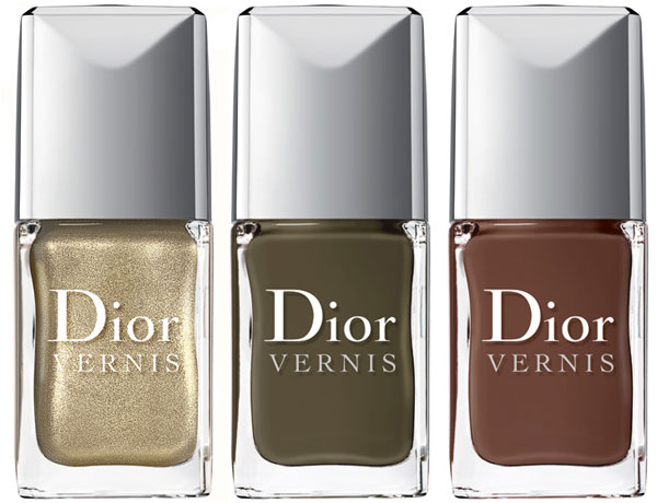 Dior Fall 2012 Le Vernis Dior Golden Jungle Collection for Fall 2012   Info & Photos