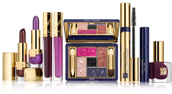 Estee Lauder Fall 2012 Violet Underground Collection promo Estee Lauder Violet Underground Fall 2012 Collection    Official Info, Photos & Prices
