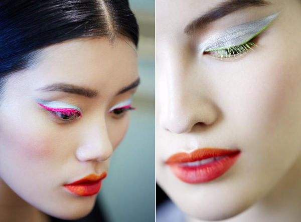 Dior Fall Winter 2012 Makeup Look Dior Fall   Winter 2012 Makeup Trends