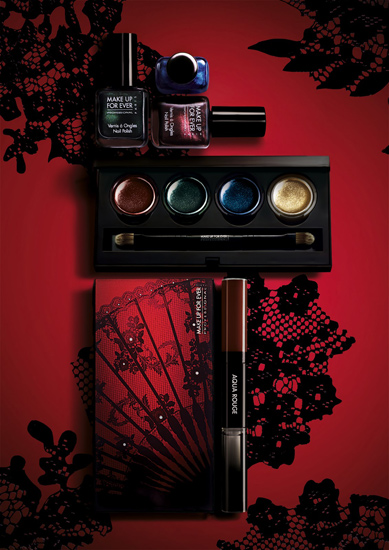 Make Up For Ever Fall 2012 Black Tango Collection Make Up For Ever Black Tango Collection for Fall 2012   Info & Photos