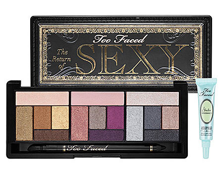 Too Faced Fall 2012 The Return of Sexy Eyeshadow Palette promo Too Faced Fall 2012 The Return of Sexy Eyeshadow Palette   Info, Photos & Swatches