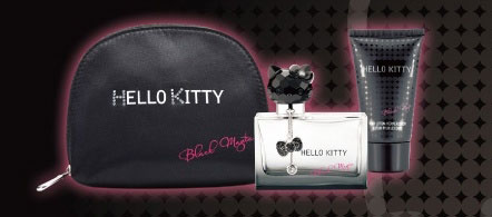 Hello Kitty Black Magic 2012 Perfume Bag Hello Kitty Black Magic Perfume for Fall 2012   Info & Photos