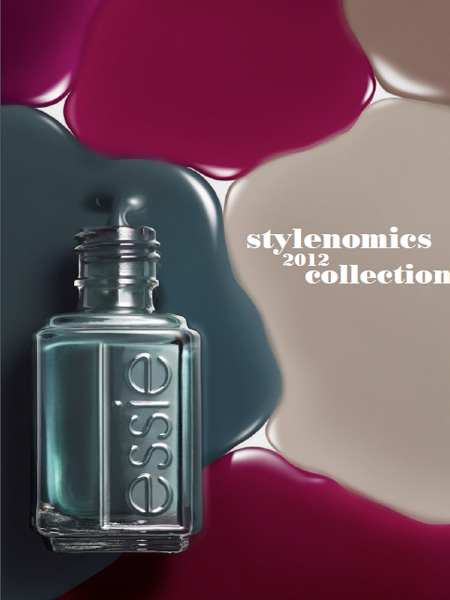Essie Fall 2012 Stylenomics Collection promo Essie Fall 2012 Stylenomics Collection – Official Info & Photos