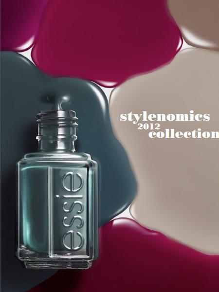 Essie Fall 2012 Stylenomics Collection promo Essie Fall 2012 Stylenomics Collection – Official Info & Photos