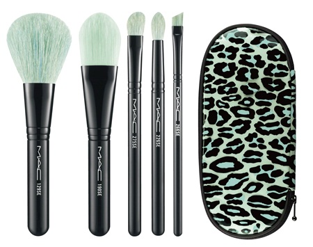 MAC Holiday 2012 Leopard Advanced Brush Set MAC Glamour Daze Holiday 2012 Collection & Gift Sets   Sneak Peek