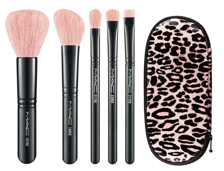 MAC Holiday 2012 Leopard Classic Brush Set MAC Glamour Daze Holiday 2012 Collection & Gift Sets   Sneak Peek