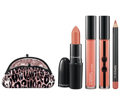 MAC Holiday 2012 Leopard Lip Gift Set MAC Glamour Daze Holiday 2012 Collection & Gift Sets   Sneak Peek