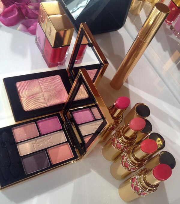 Yves Saint Laurent Makeup Collection Spring 2014 - Sneak Peek - Beauty Trends and Latest Makeup ...