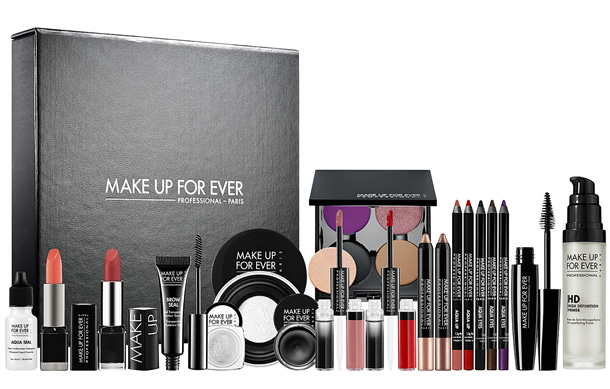 Makeup forever brushes kit