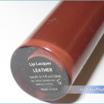 Senna Leather Lip Lacquer – Review, Swatches & Photos