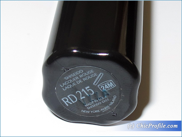Shiseido-Lacquer-Rouge-RD-215-Review-Details