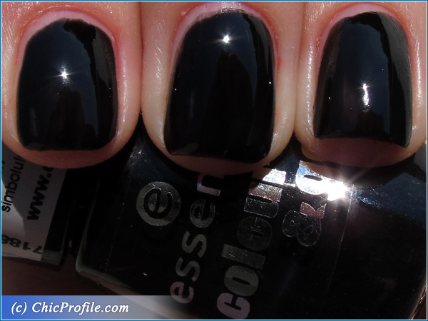 Essence-Black-is-Back-Nail-Polish-Swatch
