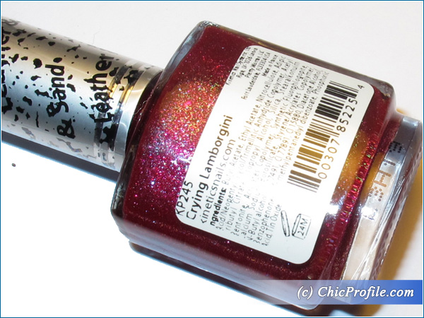 Kinetics-Crying-Lamborgini-Nail-Polish-Review