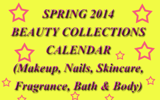 Spring-201-Makeup-Nails-Skincare-Collections-Calendar