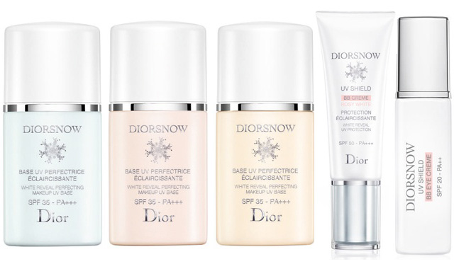 Diorsnow Skincare Collection 2014 Beauty Trends And