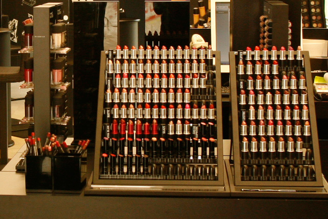 MAC40StoreUniriiSelari40 Beauty Trends And Latest Makeup Enchanting Mac Lipstick Display Stand