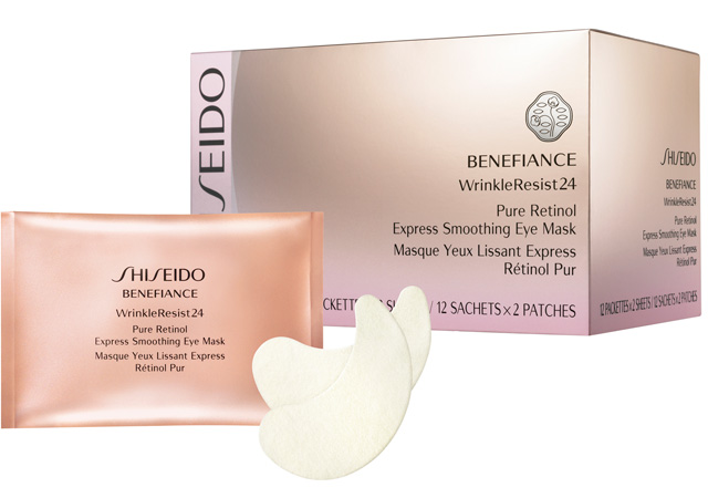 Shiseido-Benefiance-WrinkleResist24-Express-Smoothing-Eye-Mask