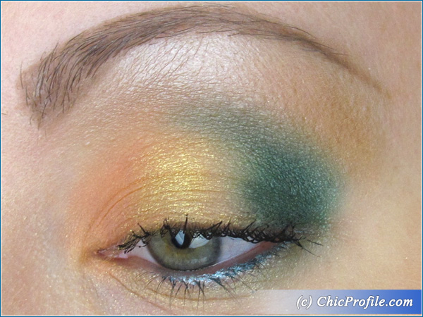 Spring-2014-Makeup-Green-Gold-Coral