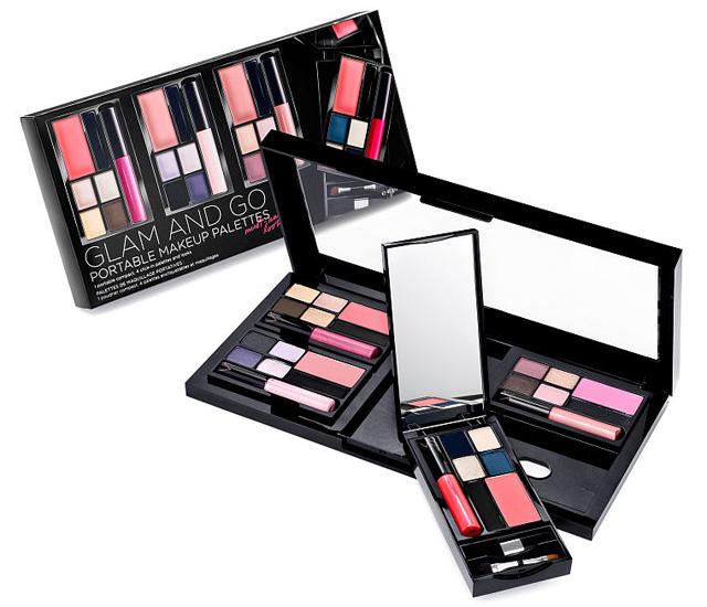 ผลการค้นหารูปภาพสำหรับ victoria secret glam and go portable makeup palettes
