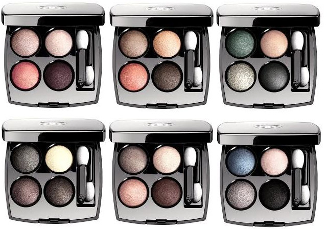 Chanel Les 4 Ombres Collection for Spring 2014 – Beauty Trends and